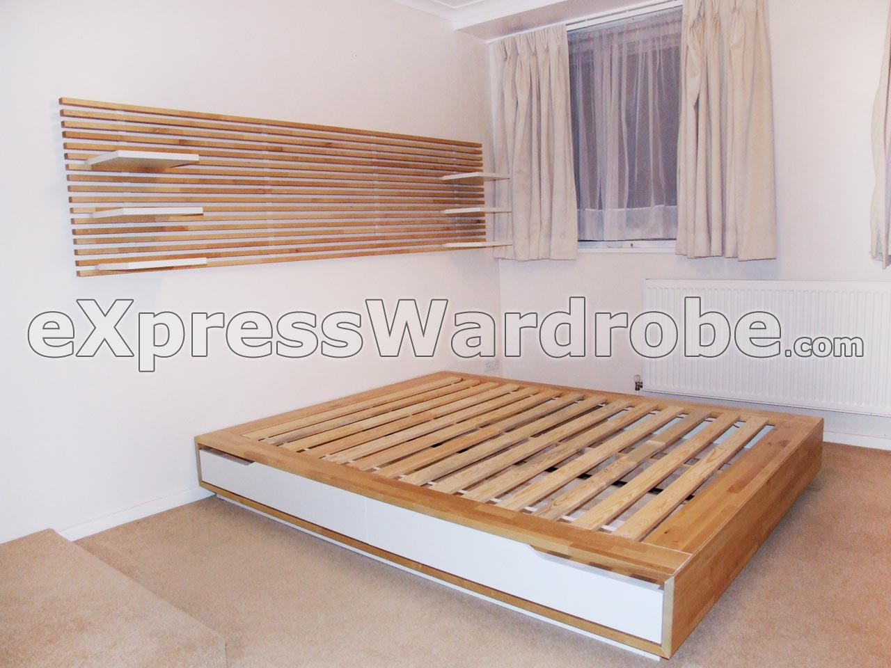 Ikea Mandal Bed With Storage