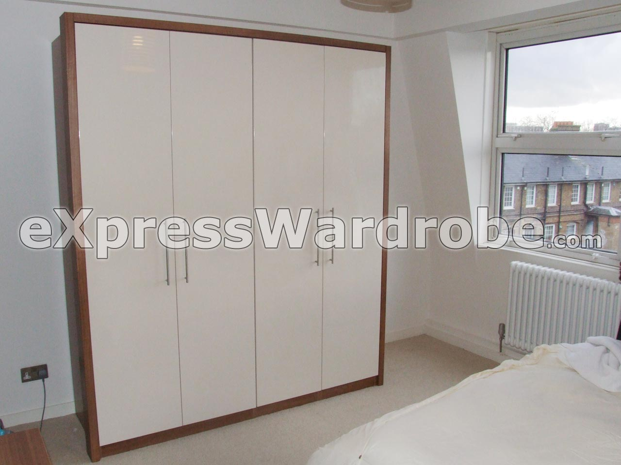 Wardrobes flat pack wardrobes sliding door wardrobes for B q bedrooms fitted