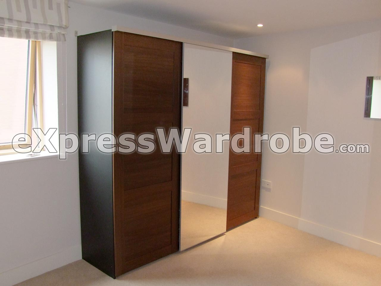 IKEA Elga Wardrobe With 3 Sliding Doors