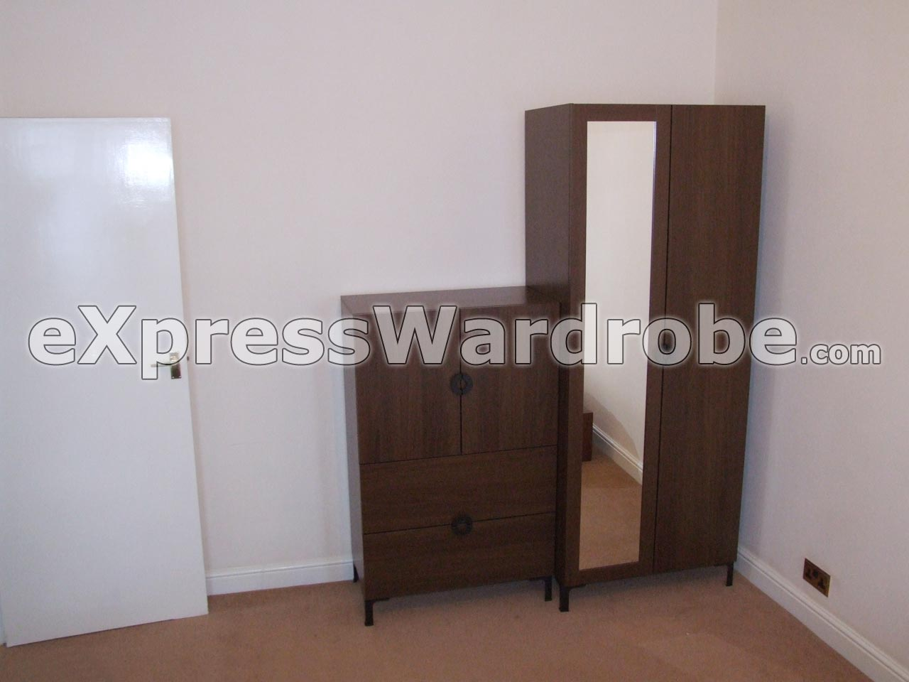 Tinted Glass Cabinet Doors Ikea ~ Wardrobes  Flat pack Wardrobes  Sliding Door Wardrobes  Free