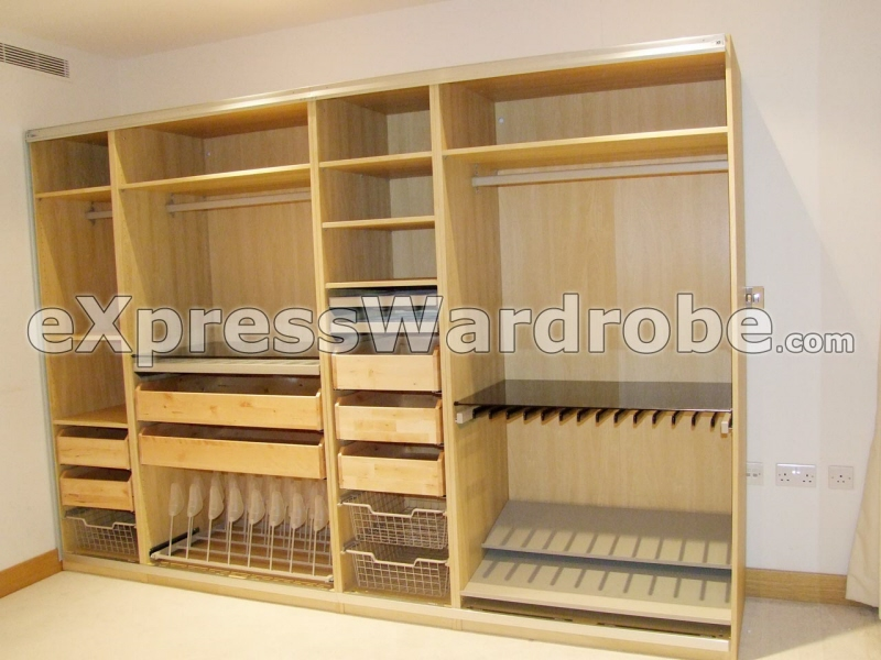 Professional wardrobe disassemble relocate and reassemble for Sliding wardrobe interior designs
