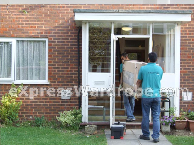 Professional Flatpack Assembly Service Professional Crew Of Joiners Assembling Flatpack